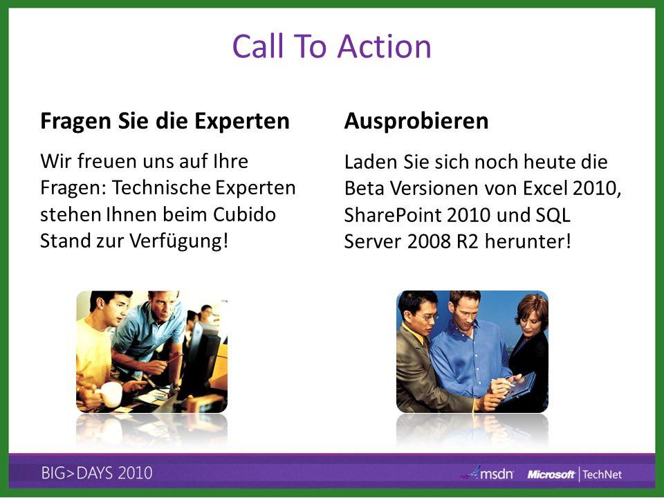 Call To Action Fragen Sie die Experten Ausprobieren