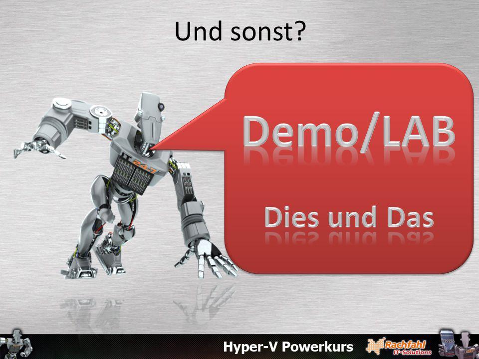 Und sonst Demo/LAB Dies und Das