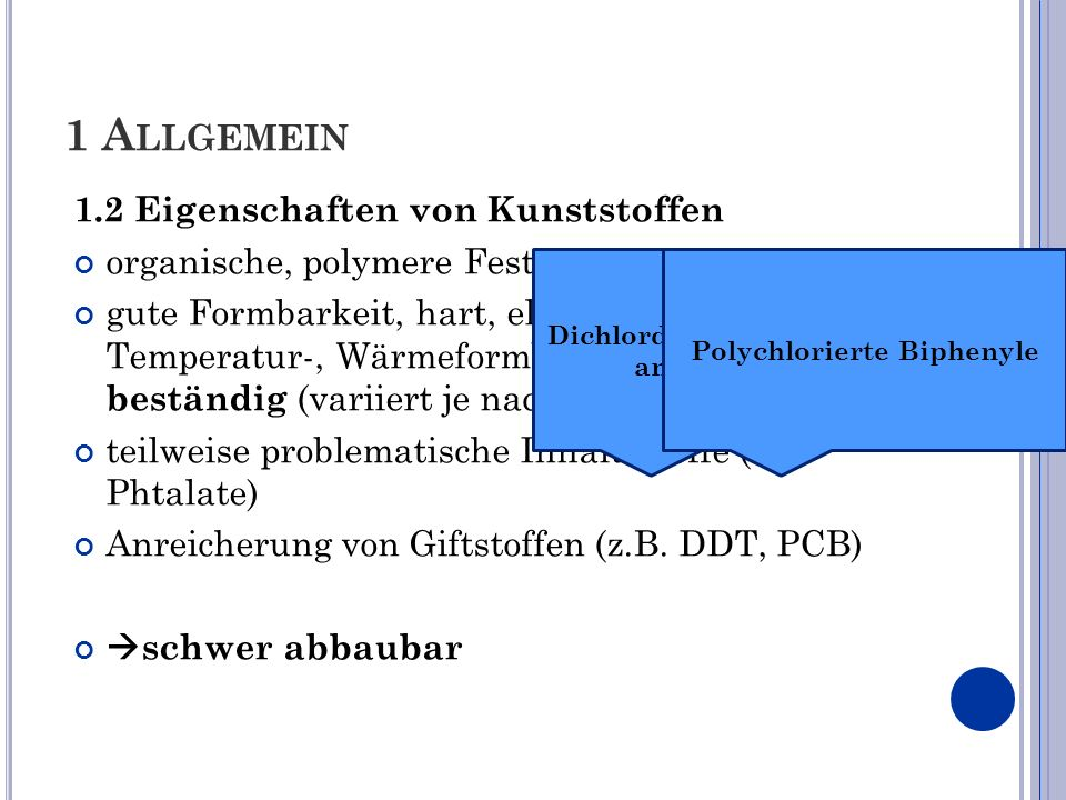 Dichlordiphenyltrichlorethan (Insektizid) Polychlorierte Biphenyle