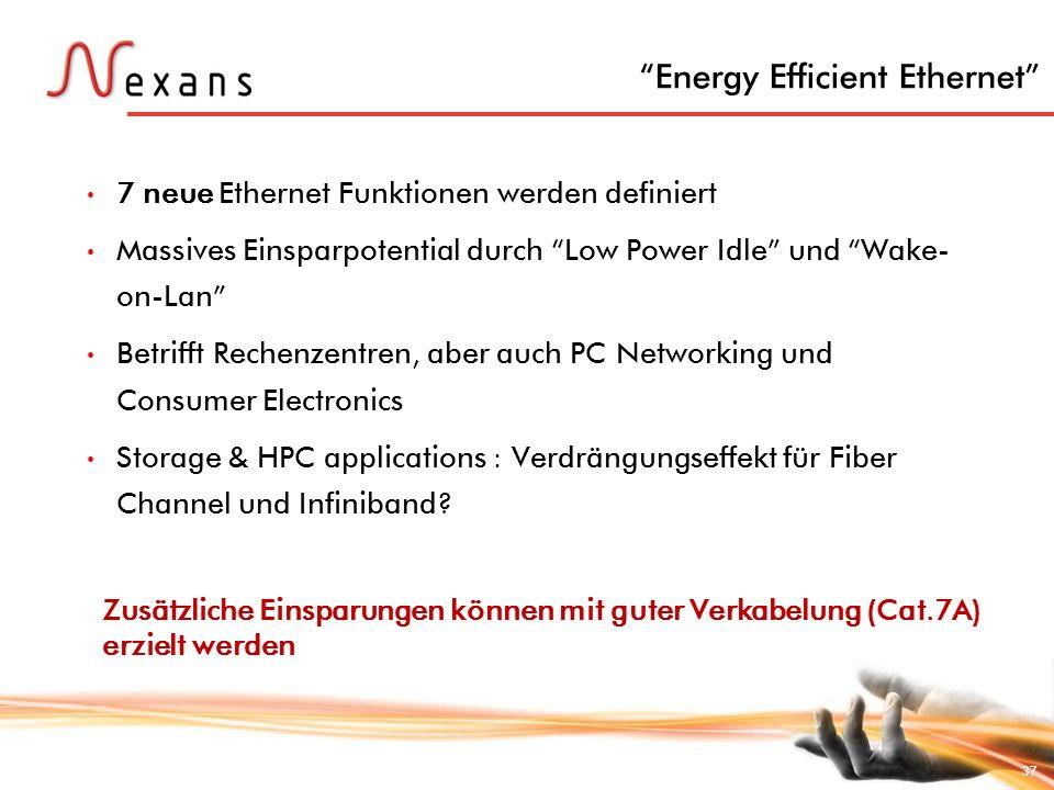 Energy Efficient Ethernet