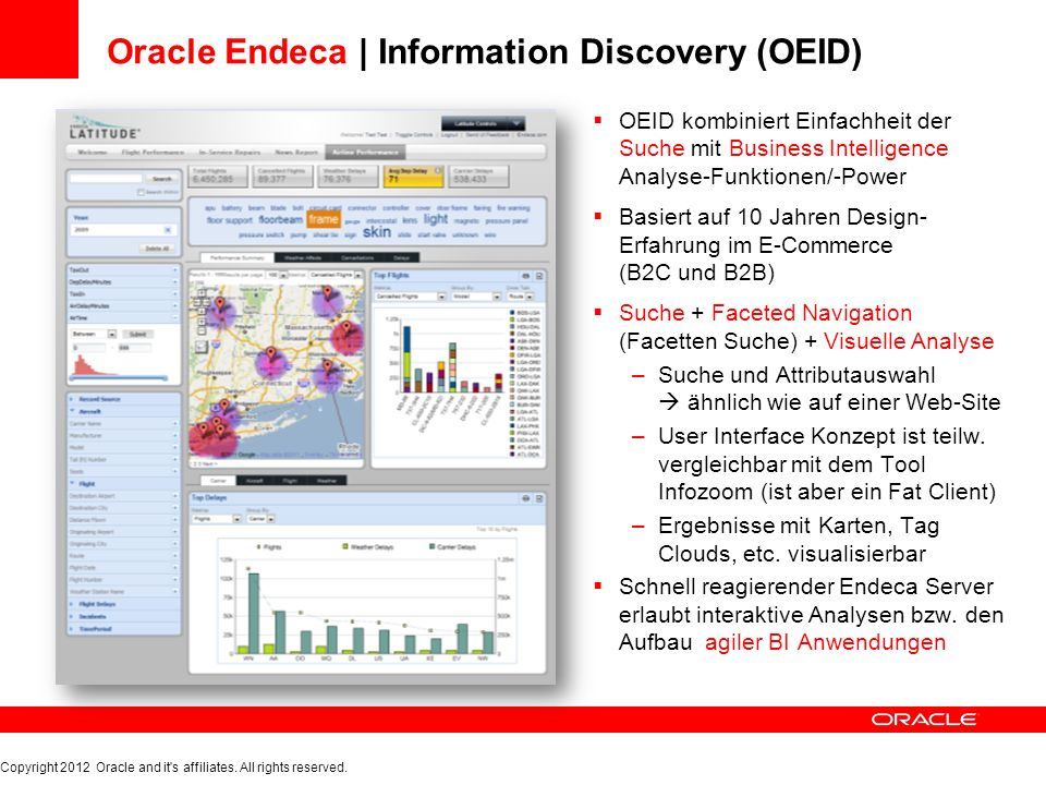 Oracle Endeca | Information Discovery (OEID)