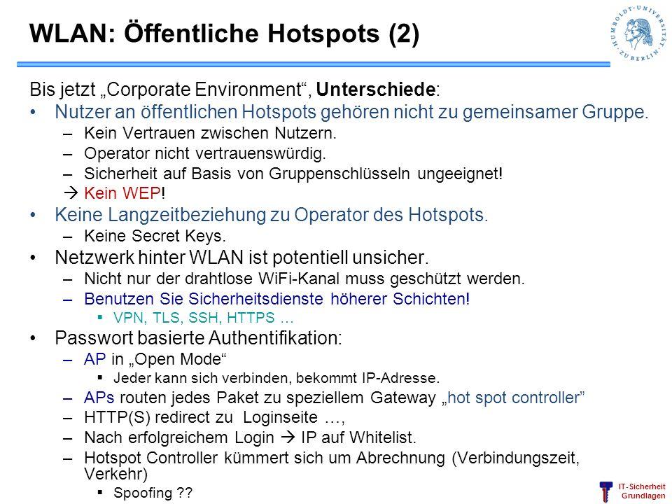 WLAN: Öffentliche Hotspots (2)