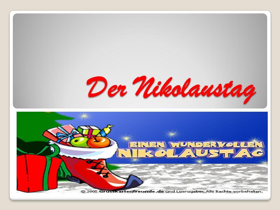 Der Nikolaustag
