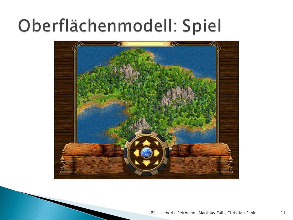 Oberflächenmodell: Spiel