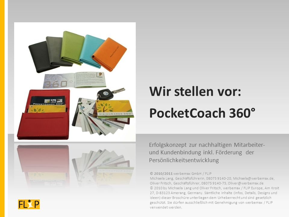 Wir stellen vor: PocketCoach 360°