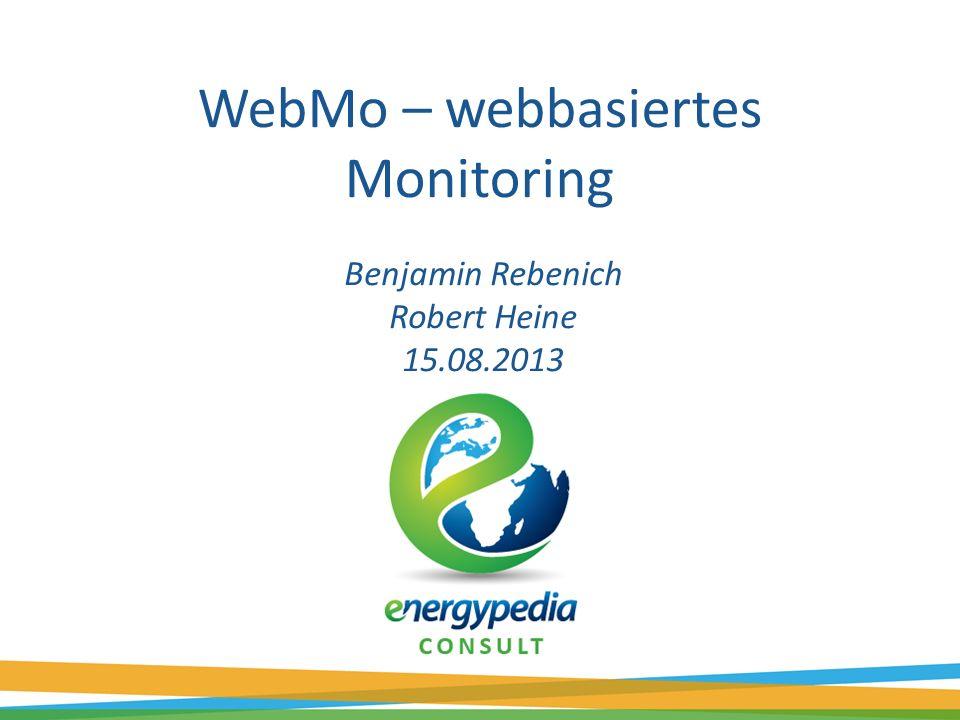 WebMo – webbasiertes Monitoring