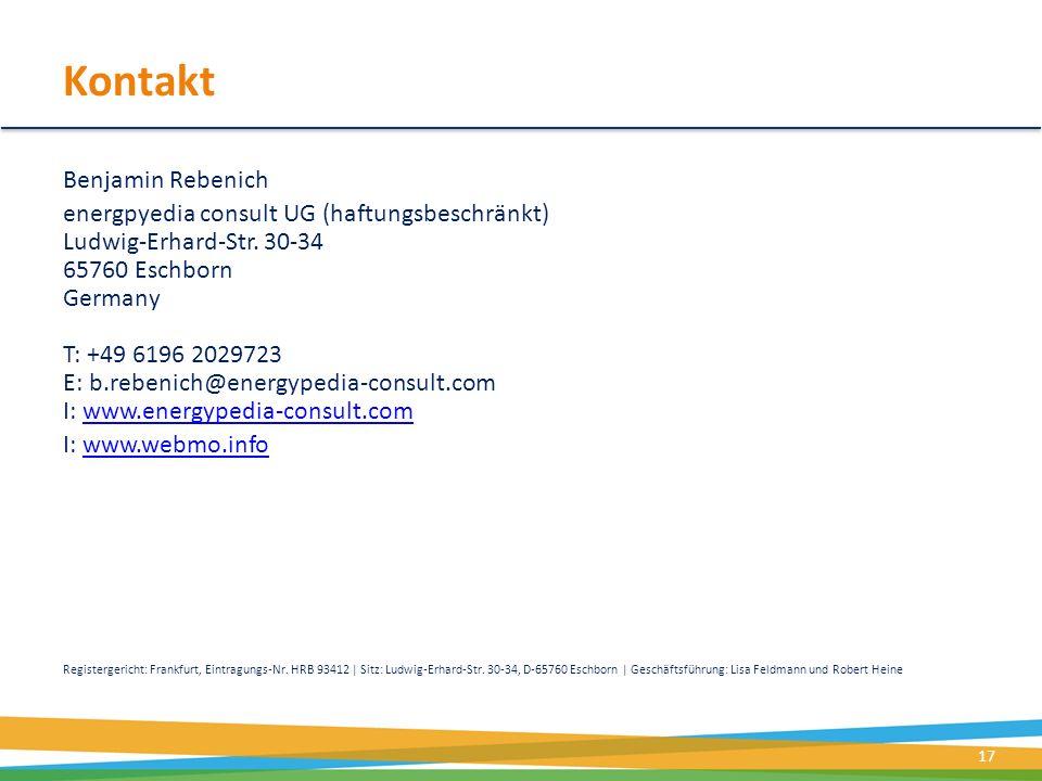 Kontakt Benjamin Rebenich