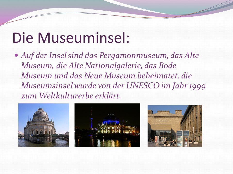 Die Museuminsel: