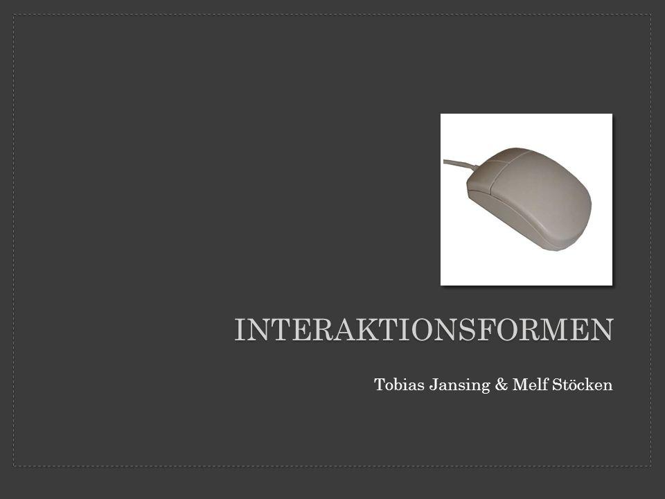 Interaktionsformen Tobias Jansing & Melf Stöcken