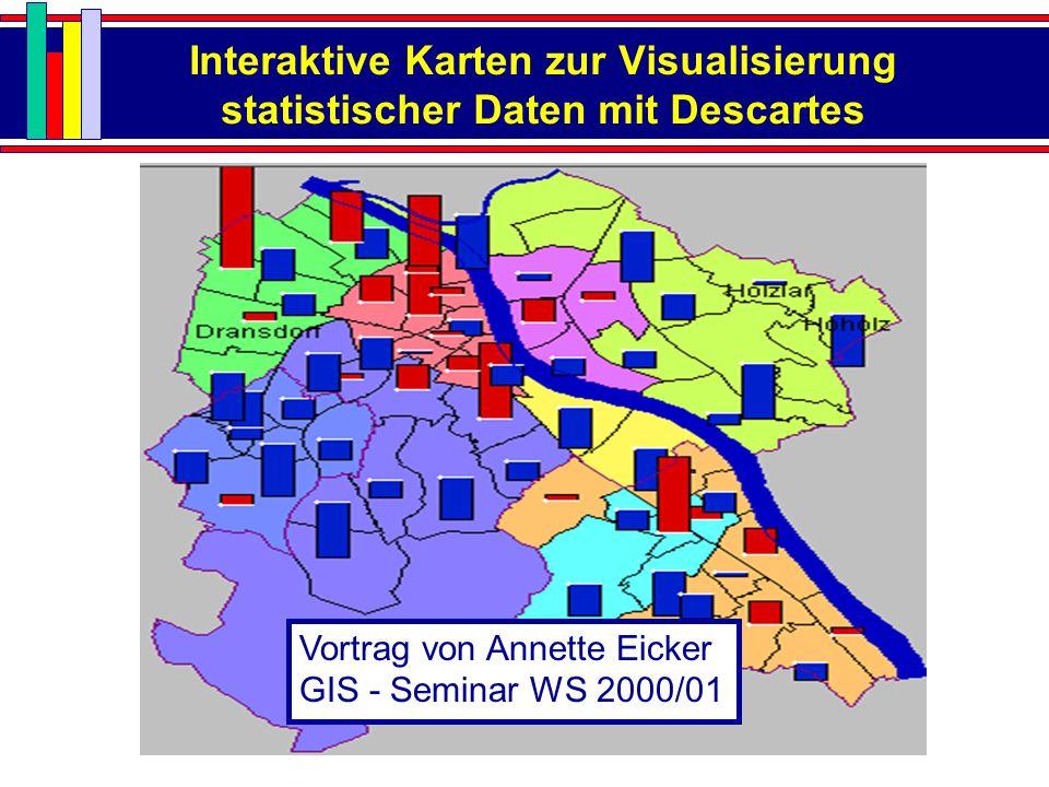 Interaktive Karten zur Visualisierung statistischer Daten mit Descartes