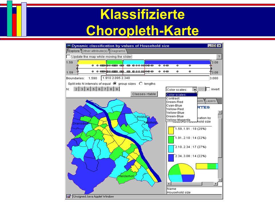 Klassifizierte Choropleth-Karte