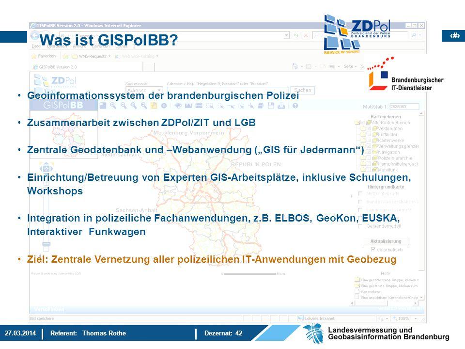Was ist GISPolBB Geoinformationssystem der brandenburgischen Polizei