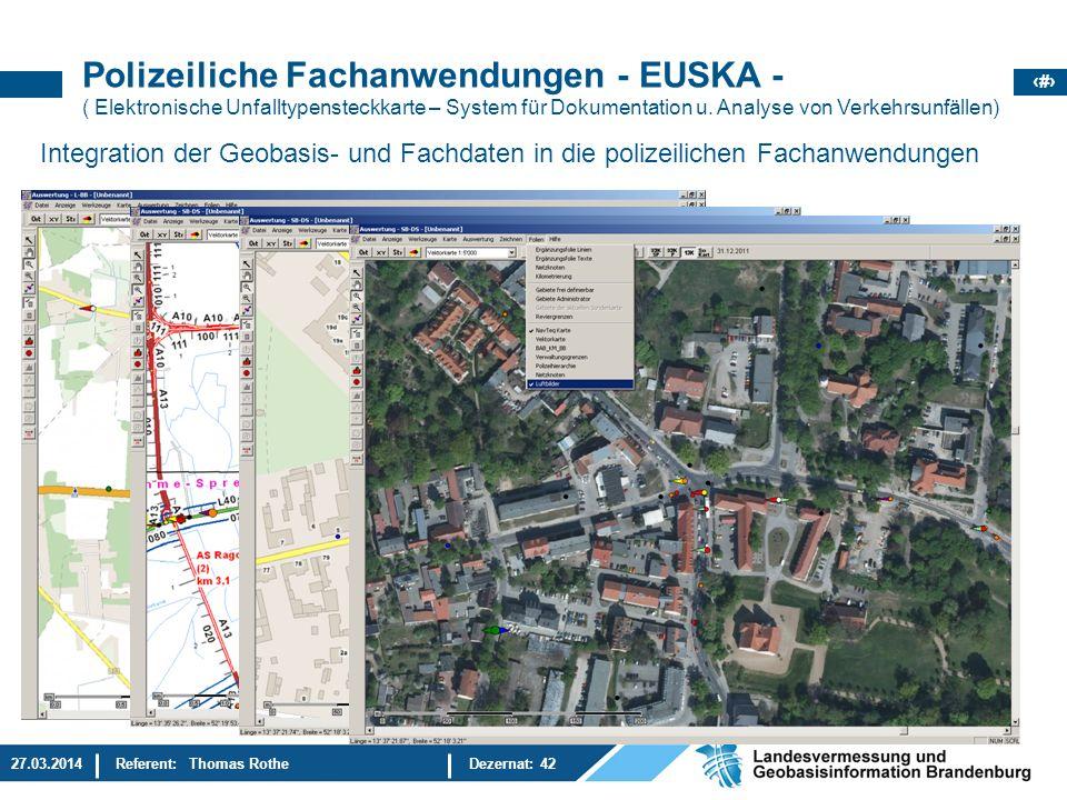 Polizeiliche Fachanwendungen - EUSKA -