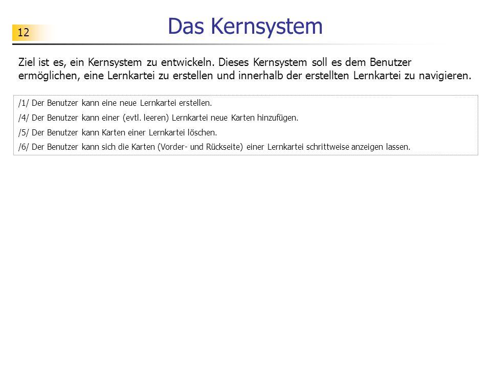 Das Kernsystem
