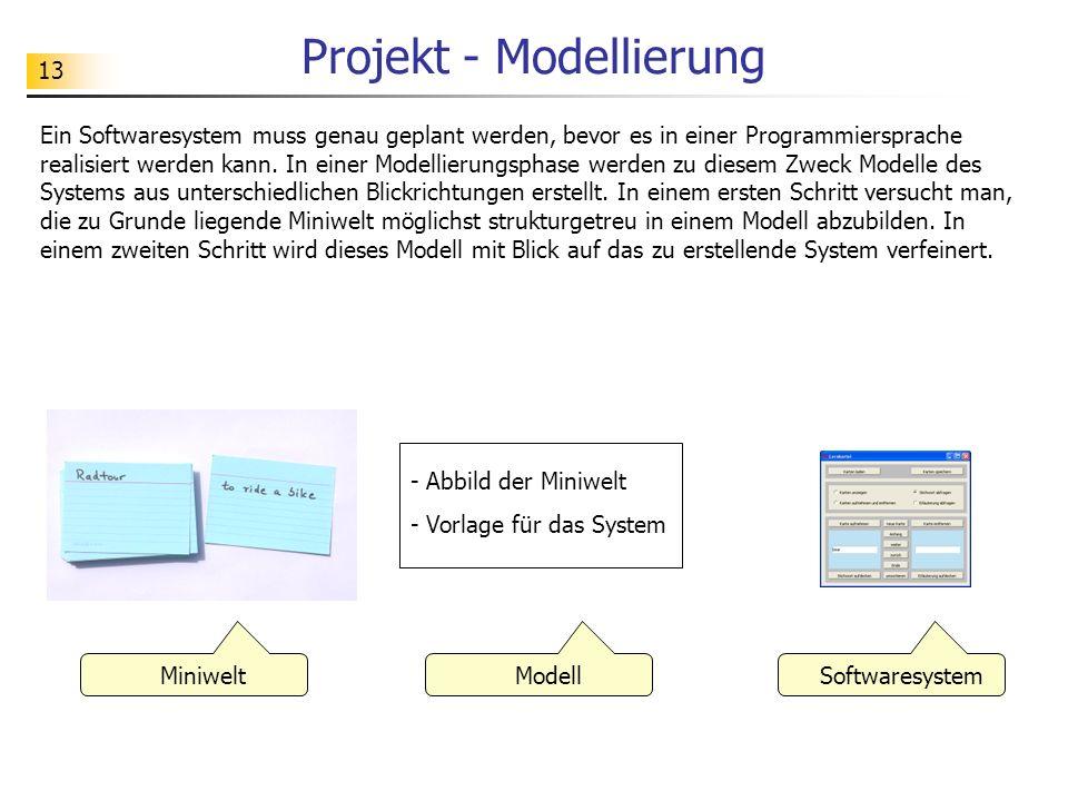 Projekt - Modellierung