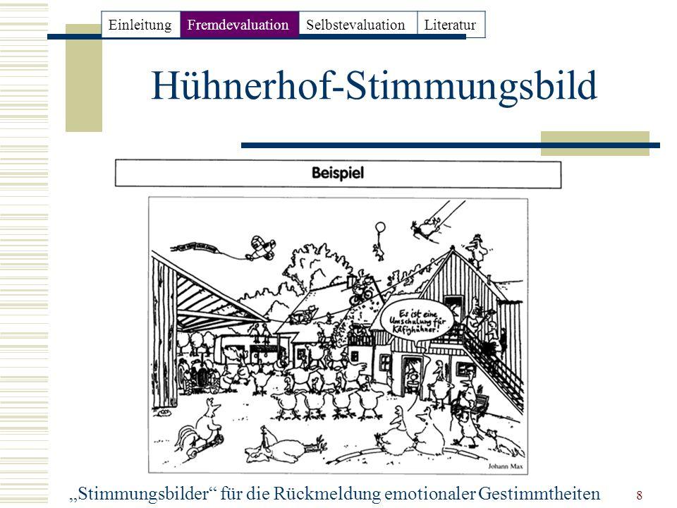 Hühnerhof-Stimmungsbild