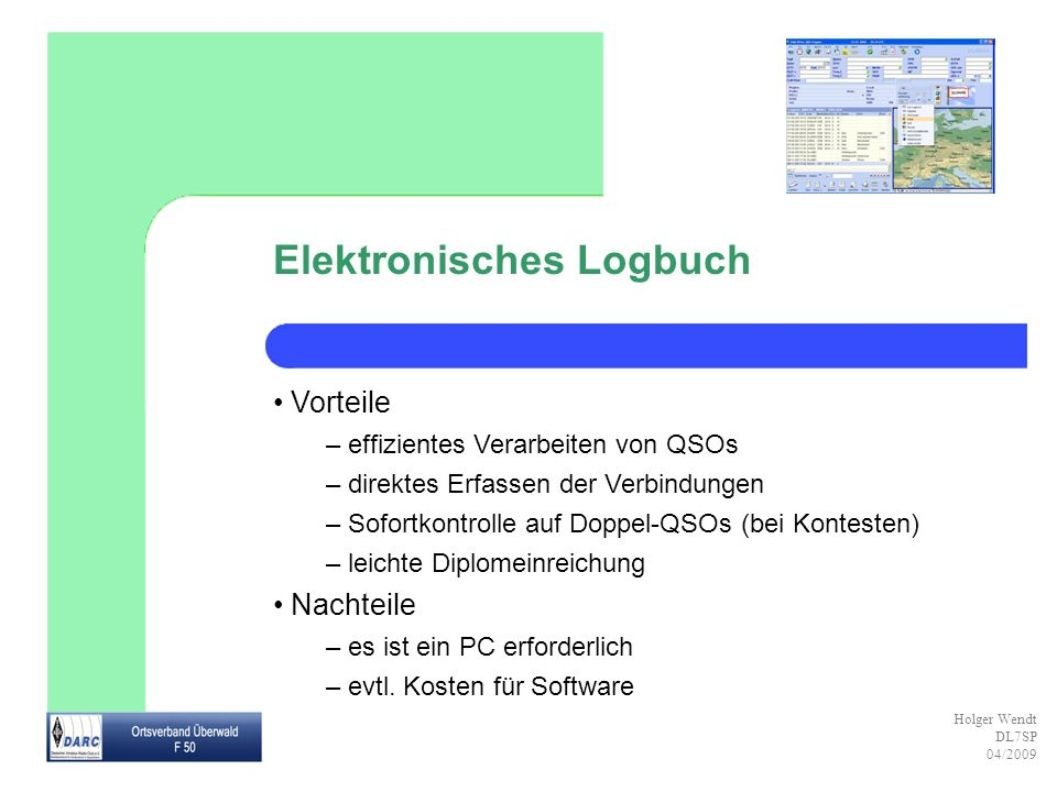 Elektronisches Logbuch