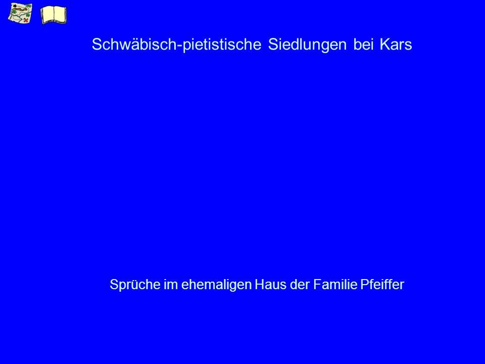 Schwäbisch-pietistische Siedlungen bei Kars