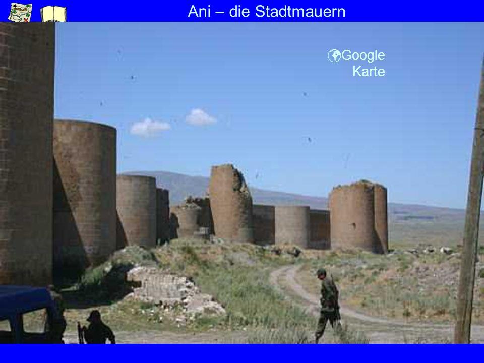 Ani – die Stadtmauern ü Google Karte