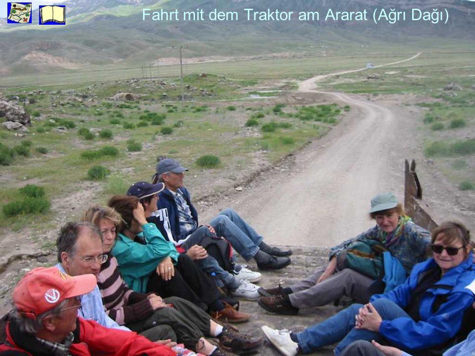 Fahrt mit dem Traktor am Ararat (Ağrı Dağı)