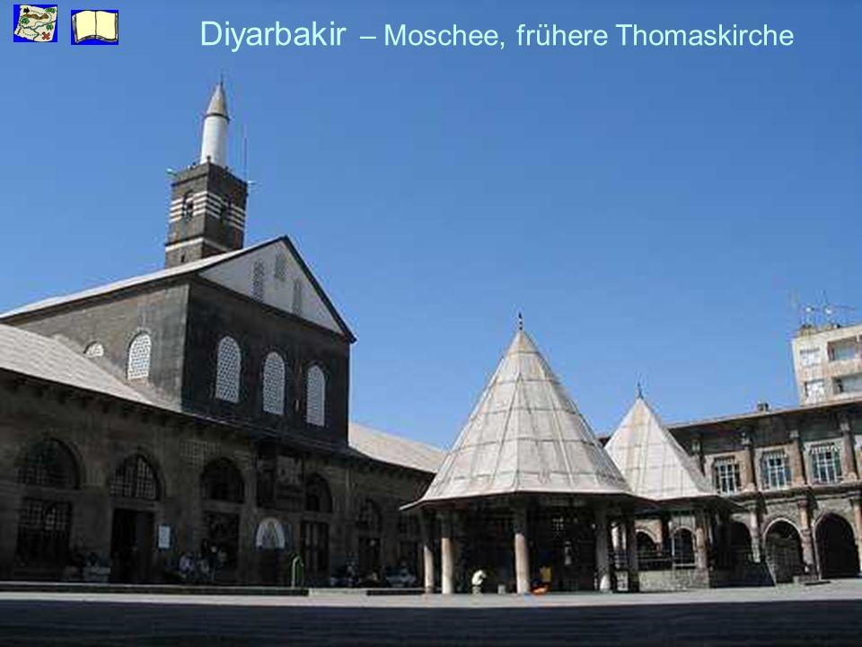 Diyarbakir – Moschee, frühere Thomaskirche