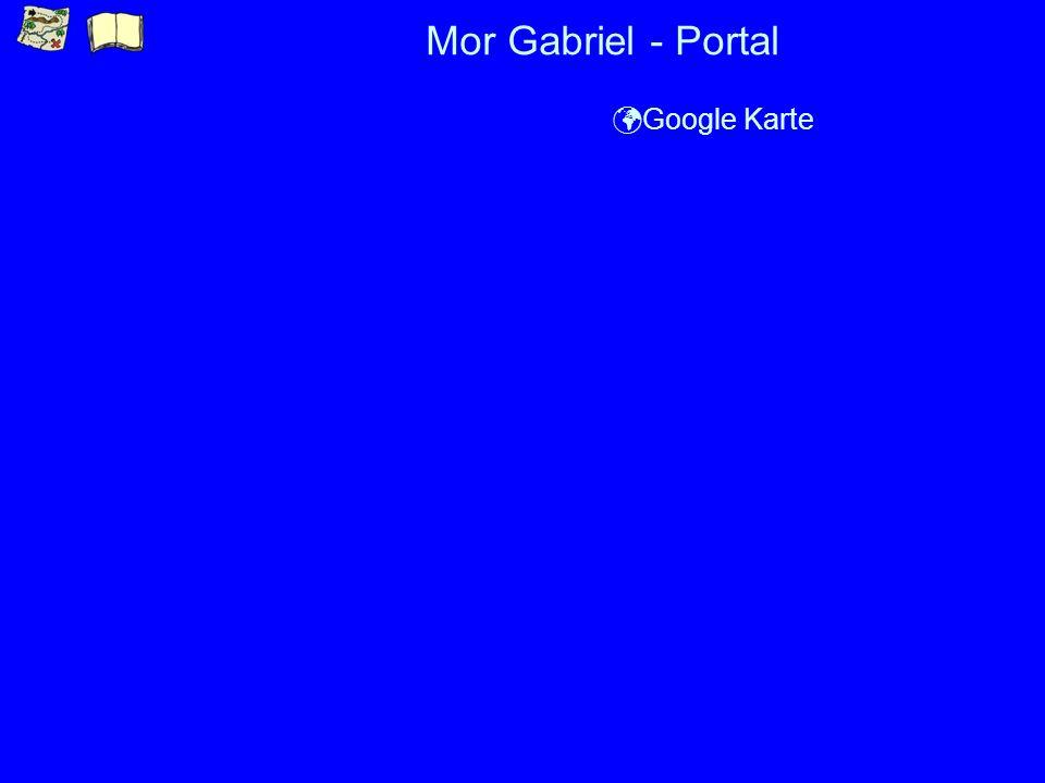 Mor Gabriel - Portal ü Google Karte