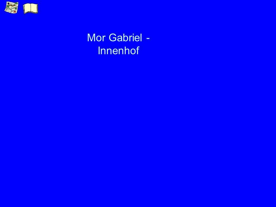 Mor Gabriel - Innenhof