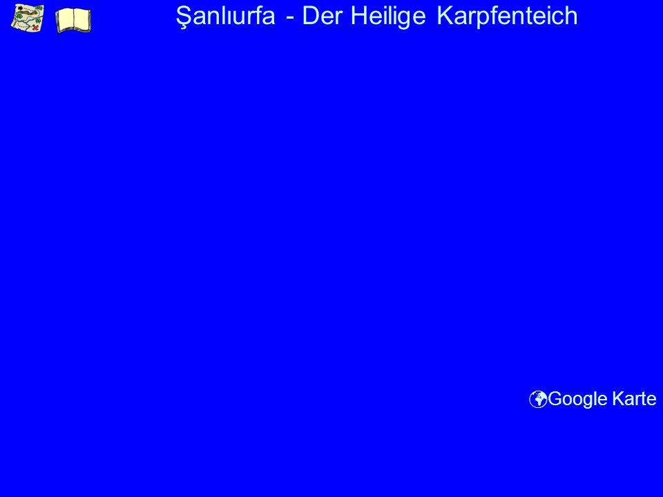 Şanlıurfa - Der Heilige Karpfenteich