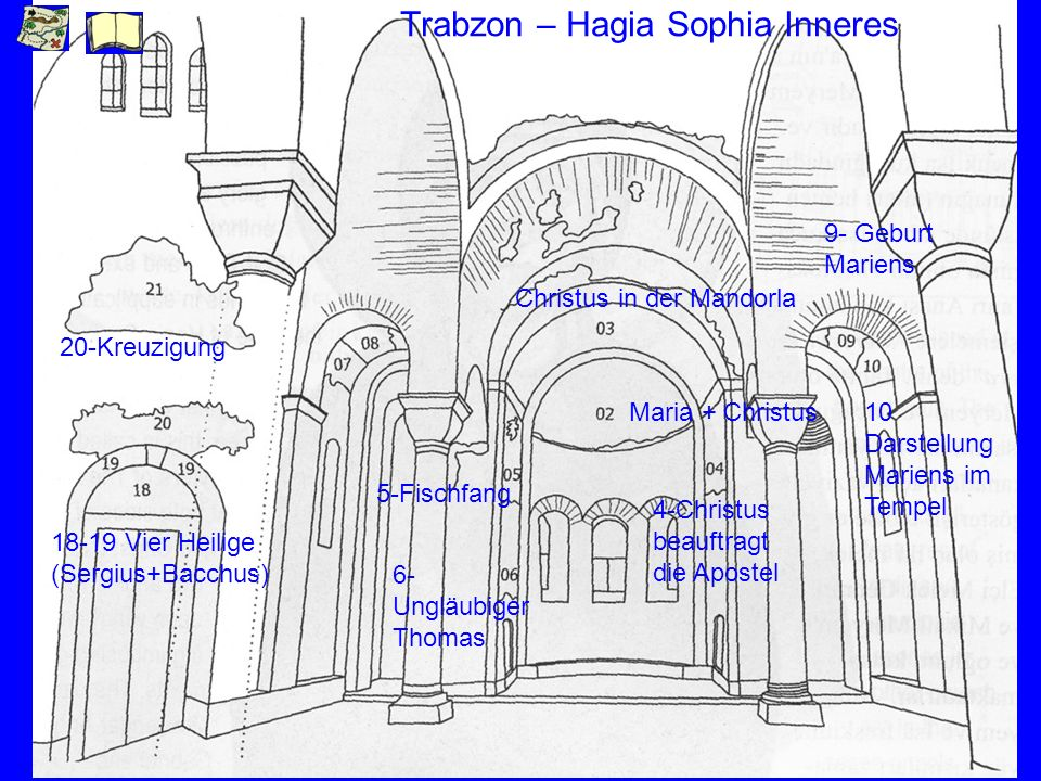 Trabzon – Hagia Sophia Inneres