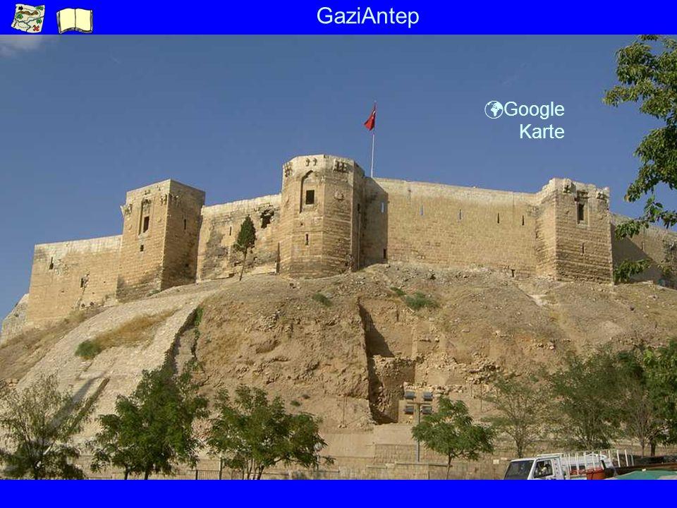 GaziAntep ü Google Karte