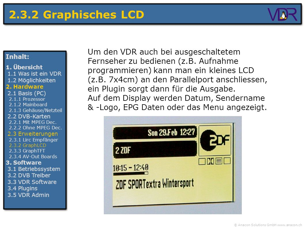 2.3.2 Graphisches LCD