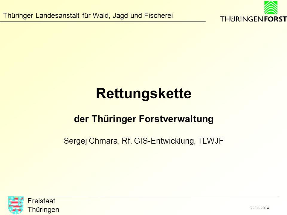 Rettungskette der Thüringer Forstverwaltung Sergej Chmara, Rf