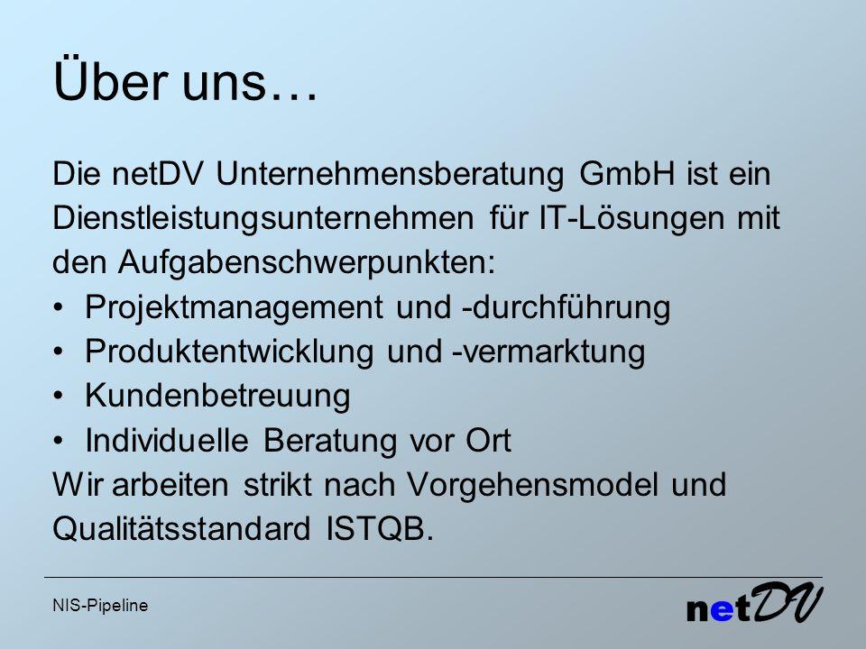 Über uns… Die netDV Unternehmensberatung GmbH ist ein