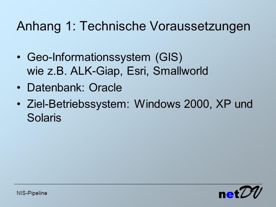 Anhang 1: Technische Voraussetzungen