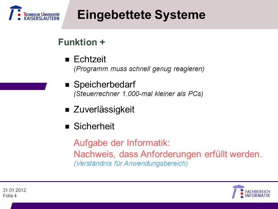 Eingebettete Systeme Funktion +