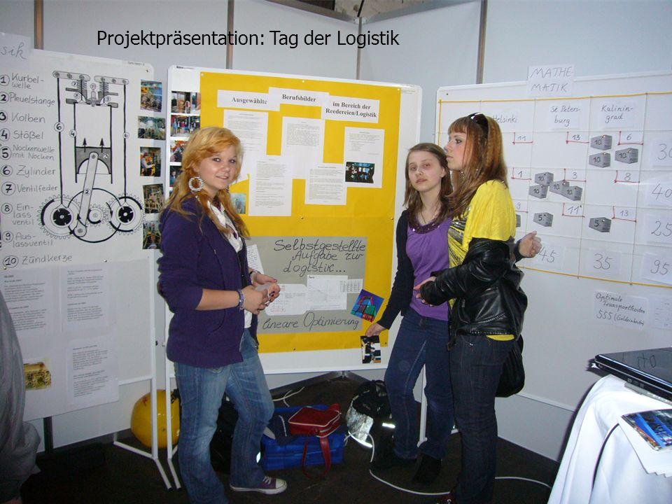 Projektpräsentation: Tag der Logistik