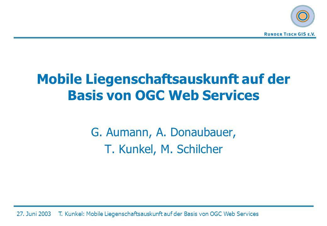 Mobile Liegenschaftsauskunft auf der Basis von OGC Web Services