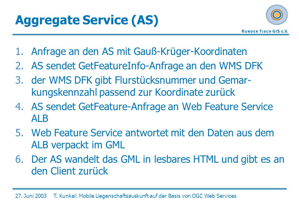 Aggregate Service (AS)