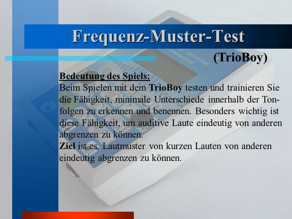 Frequenz-Muster-Test