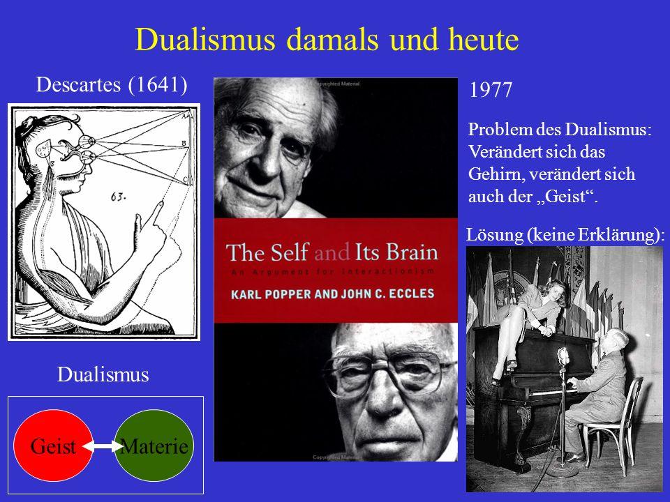 Dualismus damals und heute