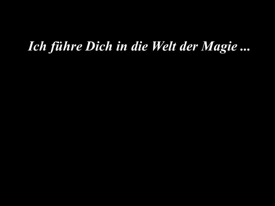 Ich führe Dich in die Welt der Magie ...