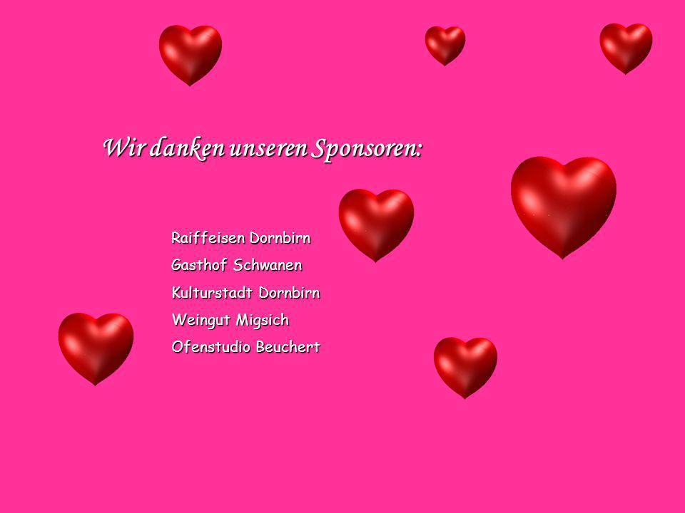 Wir danken unseren Sponsoren: