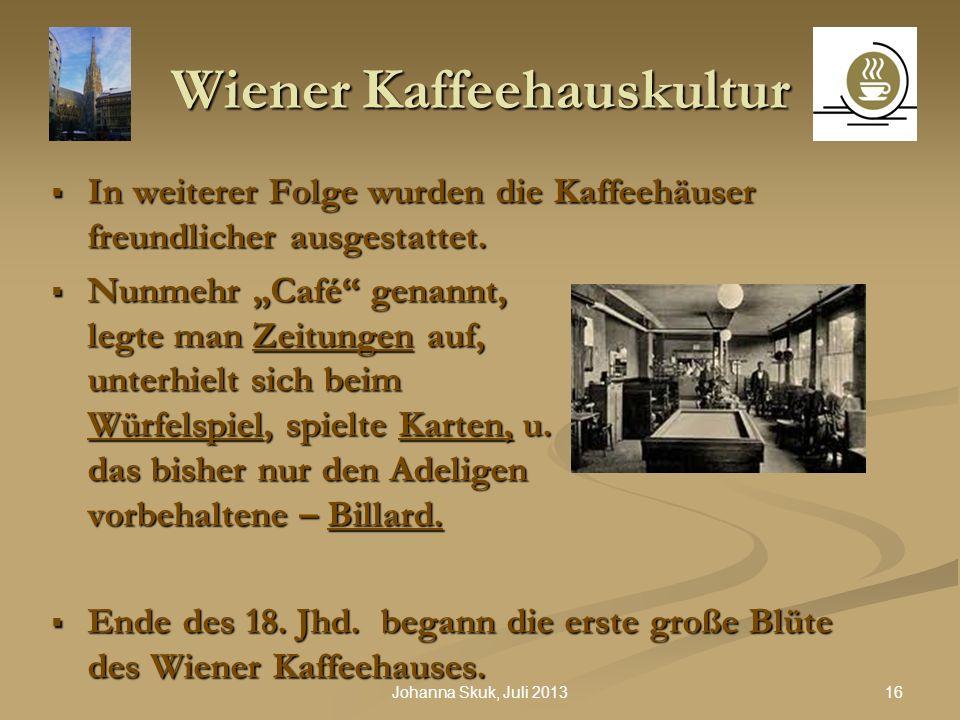 Wiener Kaffeehauskultur