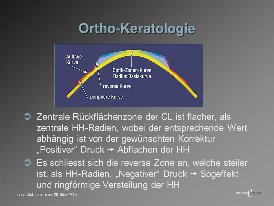 Ortho-Keratologie