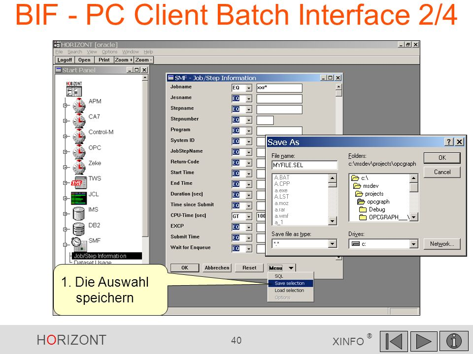 BIF - PC Client Batch Interface 2/4