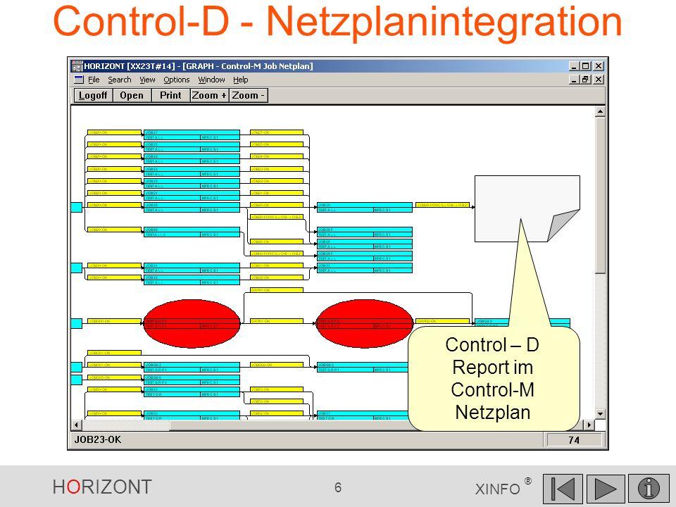 Control-D - Netzplanintegration