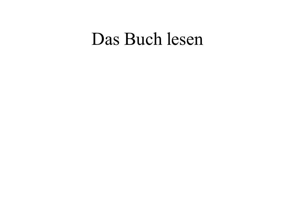 Das Buch lesen