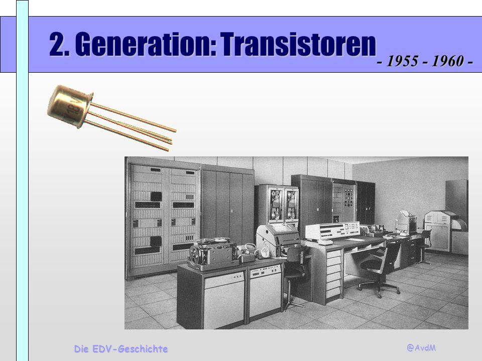 2. Generation: Transistoren