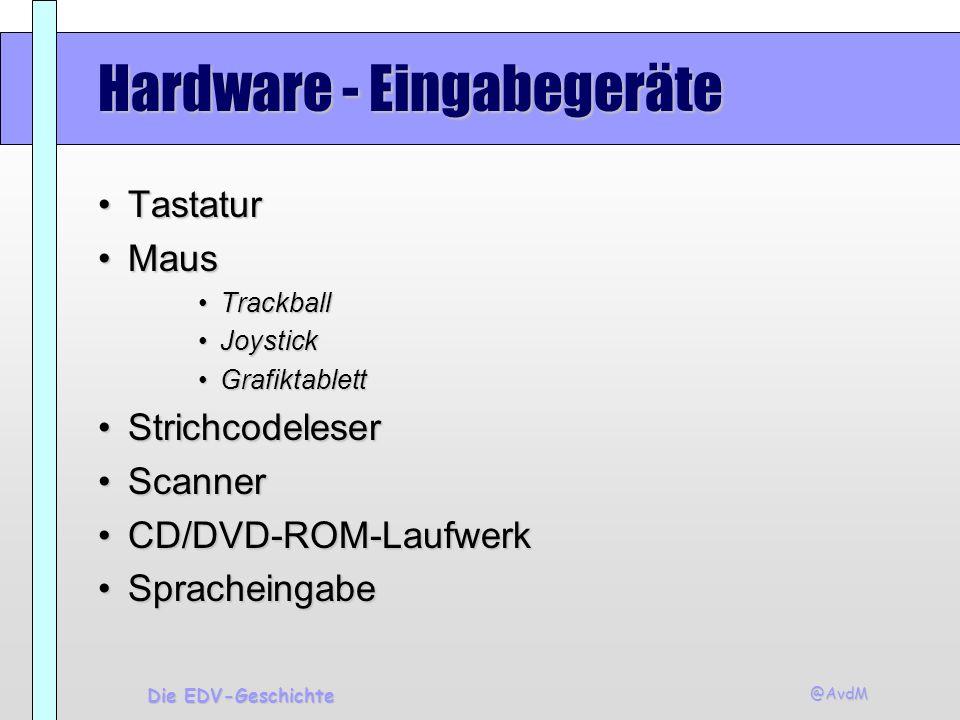 Hardware - Eingabegeräte