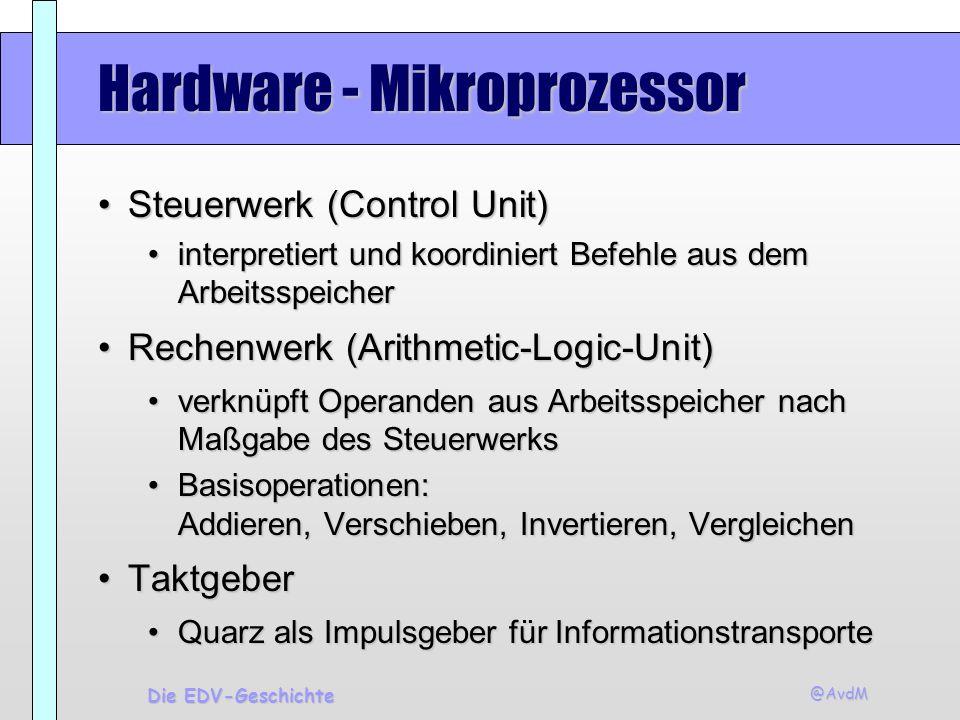 Hardware - Mikroprozessor
